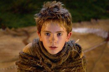 Un primo piano del piccolo Freddie Highmore alias Arthur nel film Arthur e la vendetta di Maltazard