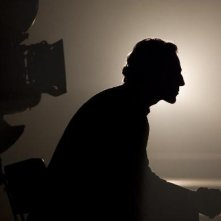 La sagoma di Daniel Day-Lewis in una scena del musical Nine