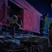 Alcuni lavoratori del circo del film d\'animazione Dumbo