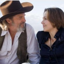 Jeff Bridges e Maggie Gyllenhaal nel film Crazy Heart
