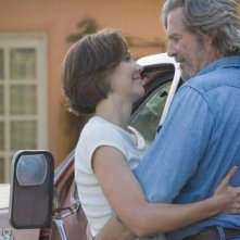 Maggie Gyllenhaal e Jeff Bridges nel film Crazy Heart