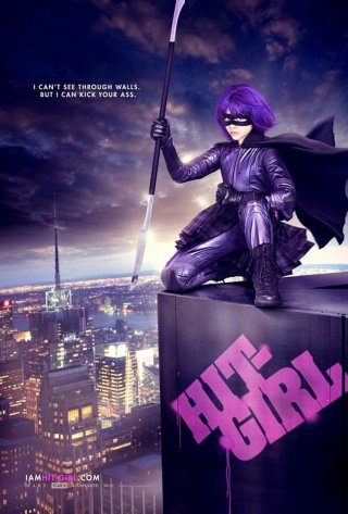 Nuovo Character Poster per il film Kick-Ass (Hit-Girl)