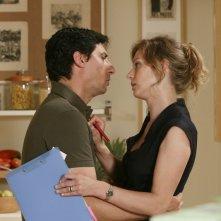 Emilio Solfrizzi ed Antonia Liskova in Tutti pazzi per amore 2