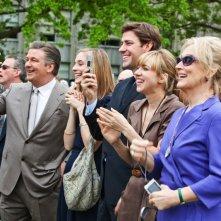 Alec Baldwin, Caitlin Fitzgerald, John Krasinski, Zoe Kazan e Meryl Streep nel film E' complicato