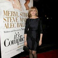 La regista Nancy Meyers alla presentazione del suo film E' complicato