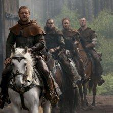 Russell Crowe in una scena del film Robin Hood