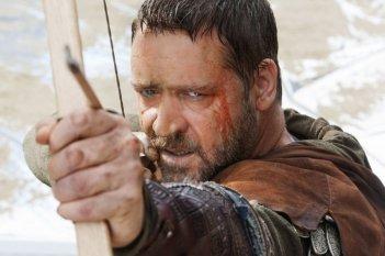 Russell Crowe, protagonista del film Robin Hood