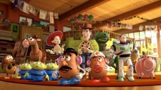 Un'immagine dei personaggi del film Toy Story 3