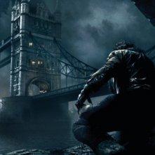 Un'immagine della Londra gotica del film The Wolf Man