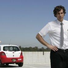 Il protagonista (Zachary Levi) in una scena dell'episodio Chuck vs. Chinatown