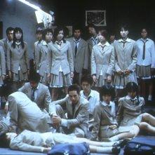 Un'immagine del film Battle Royale