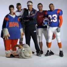 Blue Mountain State: una foto promozionale del cast