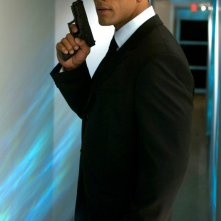The Rock in una scena del film Southland Tales