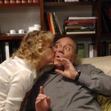 Angela Finocchiaro e Carlo Verdone nel film Io, loro e Lara