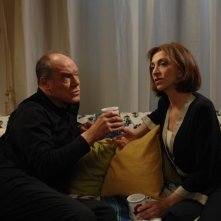 Carlo Verdone e Anna Bonaiuto in una scena del film Io, loro e Lara