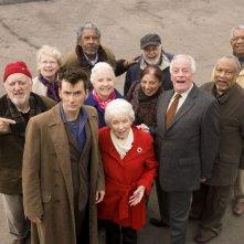 Doctor Who: Bernard Cribbins e David Tennant in una scena dello speciale The End of Time