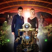 Doctor Who: David Tennant e Lindsay Duncan in una immagine promozionale dello speciale The Waters of Mars