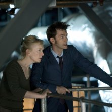 Doctor Who: David Tennant e Lindsay Duncan nello speciale The Waters of Mars