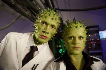 Doctor Who: Una foto promozionale dei Vinvocci per il doppio speciale The End of Time