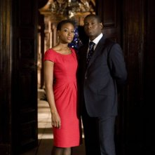 Doctor Who: Una foto promozionale di David Harewood e Tracy Ifeachor per il doppio speciale The End of Time