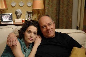 Laura Chiatti e il regista Carlo Verdone in una scena di Io, loro e Lara