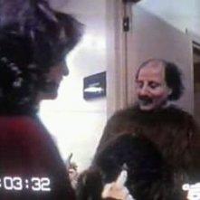 Mario Gravier durante lo show televisivo Scherzi a parte