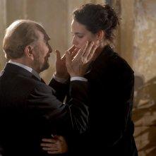 Sergio Fiorentini e Laura Chiatti nel film Io, loro e Lara