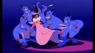 Una divertente scena del film d\'animazione Aladdin ( 1992 )