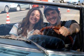Nadir Caselli e Gabriele Mainetti in un momento del secondo episodio di Tutti per Bruno