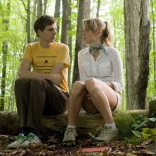 Portia Doubleday e Michael Cera in una scena del film Youth in Revolt