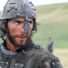 Gian Marco Tavani sul set di Barbarossa (2009)