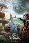 Poster Ufficiale Italiano di Alice In Wonderland