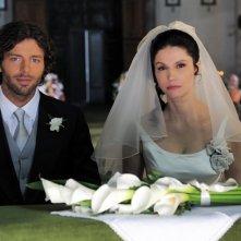 Francesco Testi ed Alessandra Martines in una scena di Caterina e le sue figlie 3
