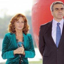 Stefano Santospago e Giuliana De Sio in una scena di Caterina e le sue figlie 3