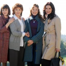 Valeria Milillo, Virna Lisi, Sarah Felberbaum ed Alessandra Martines in Caterina e le sue figlie 3