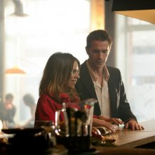 Billie Piper e James D'Arcy in un momento della stagione 3 di Diario di una squillo perbene