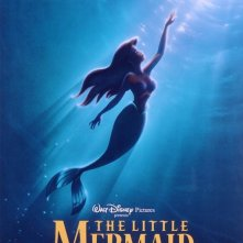 Locandina del film d\'animazione La sirenetta (1989)