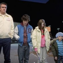 The Middle: Neil Flynn, Charlie McDermott ed Eden Sher nell'episodio The Yelling