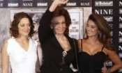 Il cast stellare di 'Nine' a Roma