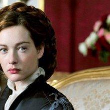 Cristiana Capotondi nei panni di Sissi in una scena della fiction dedicata all'indimenticata imperatrice d'Austria