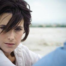 Martina Codecasa in una scena del film Sul mare di Alessandro D'Alatri