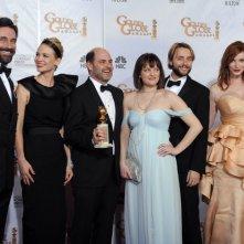 Cast ed autori di Mad Men, miglior serie drammatica ai Golden Globes 2010