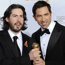 Jason Reitman e Sheldon Turner ai Golden Globes 2010
