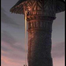 Poster del film d'animazione Raperonzolo (Rapunzel 2010)