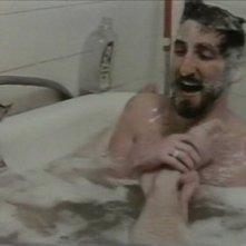 Frank Ripploh in vasca nel film Ai cessi in tassì
