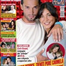 George Leonad e Carmela Gualtieri sulla copertina di Visto.