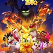 Un poster del film d'animazione Otra película de huevos y un pollo