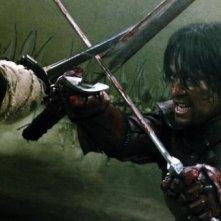 Una scena del film Goemon