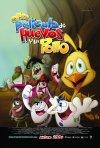 Uno dei poster del film d'animazione Otra película de huevos y un pollo