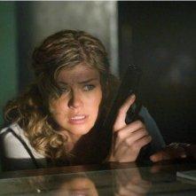 Adrianne Palicki in una scena del film Legion